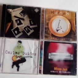 CD's  de  Rock  e Blues, M.P.B. originais e importados preço por unidade a combinar