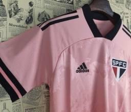 Camisa São Paulo rosa