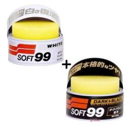 Cera soft99 Dark e White kit 02 unidades 350g