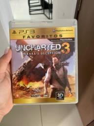 Jogo para PS3 UNCHARTED 3 ORIGINAL
