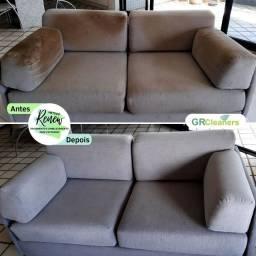 Título do anúncio: Lavagem, limpeza, Higienização de sofá, cadeiras, poltronas