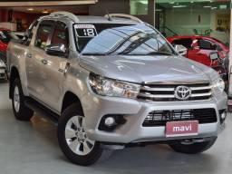 Toyota Hilux 2.8 Tdi Srv Cd 4x4 automática 2018 Novissíma