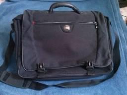 Maleta para laptop Wenger Swissgear-poliéster e pouco uso