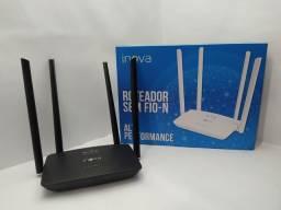Roteador wireless 4 anterna  300mbps
