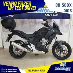 Título do anúncio: CB 500X 2015 Preta