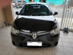 Renault Clio Authentique 1.0 16V (Flex) 2014 - Baixa km, Impecável