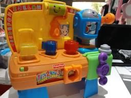 Brinquedos bebê didáticos sons e luzes