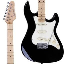 guitarra strinberg sts-100 preta nova+ correia basso preta