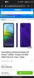 Título do anúncio: Moto g9 Power 128gb