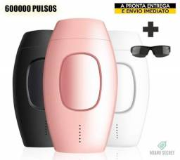 Depilador IPL 600000 Flashes - Portátil (Rosa)