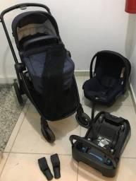 Carrinho + Bebê conforto + Base Maxi Cosi