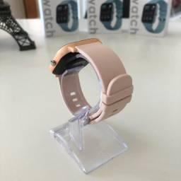 Smartwatch Colmi P8 Rosê Pulseira de Silicone Compatível com IPhone e iOS
