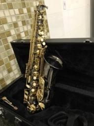 Saxofone  Alto Eb Eagle  sa500 bg  onix