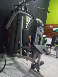 Estação Profissional completa de musculação com caga 60kg
