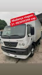 Transporte serviços caminhão baú