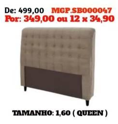 Promoção em Mato Grosso do Sul - Cabeceira de Casal e Queen (1,40 e 1,58) Embalado