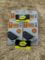 Carregador Portátil Power Bank 5000mah - Entrega Gratuita.