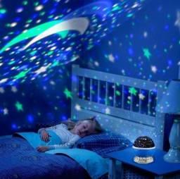Projetor luminária 360° Galaxy