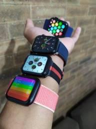 Smartwatch Iwo 13 Lite use fotos na tela inicial