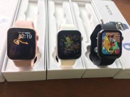 Smart Watch + de 40 Watch face completo