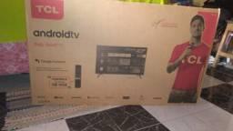 Smartv TCL 40polegadas nova na caixa