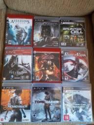 Vendo 9 jogos originais ps3 em mídia física e ótimo estado