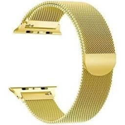 Pulseira Smartwatch Aço Milanese