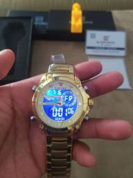 Naviforce 9163 lindo relógio