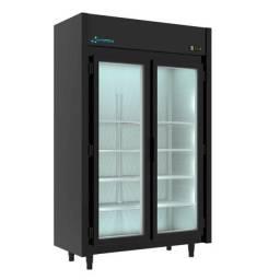 Expositor de frios 2 portas black (Guilherme