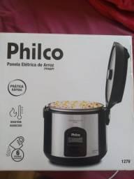 Panela elétrica de arroz Philco (grande e nova, na caixa)
