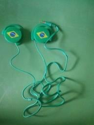 Fone de ouvido do Brasil