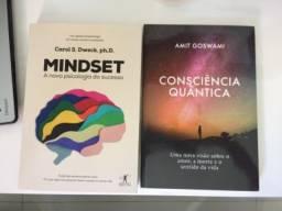 Livros: Mindset, A Nova Psicologia do Sucesso e Consciência Quântica