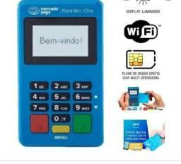Maquininha com Chip e Wi-Fi