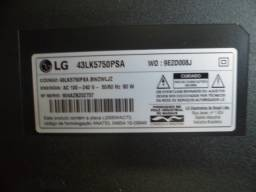 placa wi-fi 43lk5750psa lg ebr * usada leia anuncio