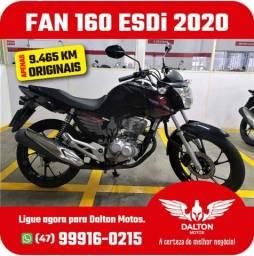 Título do anúncio: FAN 160 ESDi 2020 - Apenas 9.465 km originais