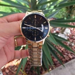Título do anúncio: Relógio Masculino Original Nibosi Aço Inox