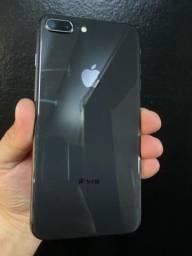 Título do anúncio: IPhone 8 plus. 64gb. Loja fisica.