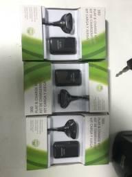 3 baterias para controle de Xbox 360
