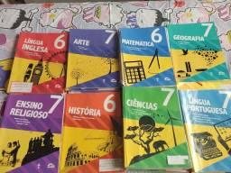Livros educação adventista usados da 1 série até o 7 ano