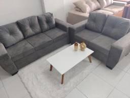 Conjunto de sofá vilage 2 e 3 lugares