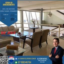 AR Vendo ou Arrendo um dos maiores hotéis do Sertão de PE em Serra Talhada