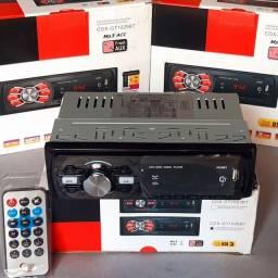 Rádio automotivo bluetooth/usb/auxiliar