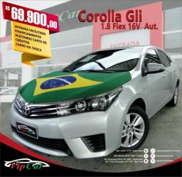 TOYOTA COROLLA 2014/2015 1.8 GLI 16V FLEX 4P AUTOMÁTICO - 2015