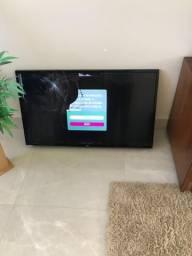 Smart tv lg 43lh5600 TELA QUEBRADA