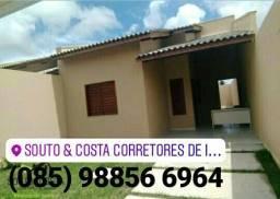 CASAS NO PQ DOM PEDRO Com 3 quartos ( suíte ) Apenas R$ 145 MIL .