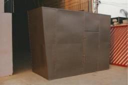 Cabine acústica para gerador - carenagem com atenuador de ruidos