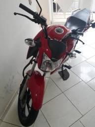Moto honda cg 160 titan vermelha - 2016