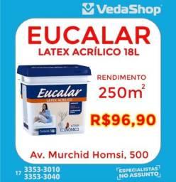 Tinta Latex Acrilico Eucalar 18 LT ! Promoção!