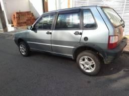 Vendo Fiat Uno Mille Flex 1.0 - 4 portas - Documento em dia - 2006