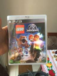 Jogo ps3 novo Lego jurássic world